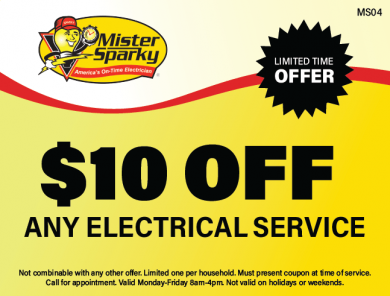 $10 Off Any Electrical Service