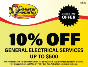 10% Off General Electrical Services Up To $500