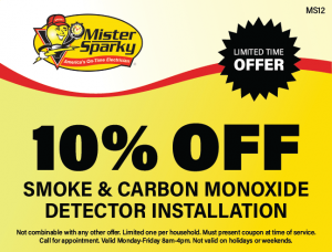 10% Off Smoke & Carbon Monoxide Detector Installation
