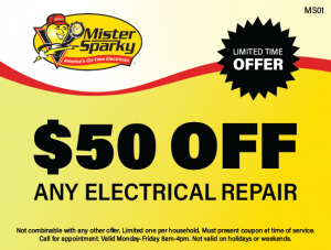 $50 Off Any Electrical Repair