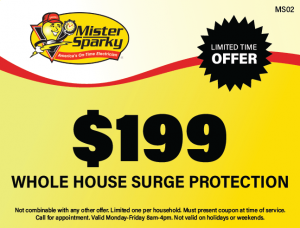 $199 Whole House Surge Protection